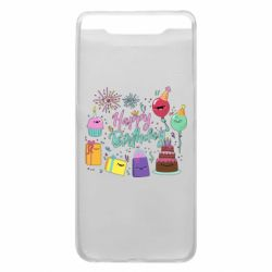 Чохол для Samsung A80 Happy Birthday