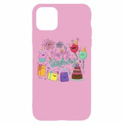 Чохол для iPhone 11 Pro Happy Birthday