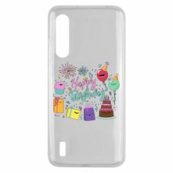 Чохол для Xiaomi Mi9 Lite Happy Birthday