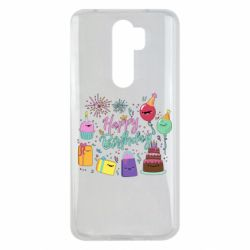 Чохол для Xiaomi Redmi Note 8 Pro Happy Birthday