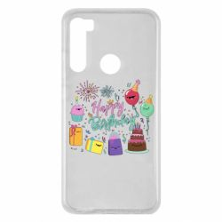 Чохол для Xiaomi Redmi Note 8 Happy Birthday