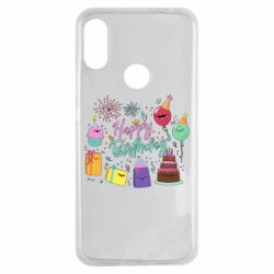 Чохол для Xiaomi Redmi Note 7 Happy Birthday