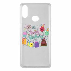 Чохол для Samsung A10s Happy Birthday