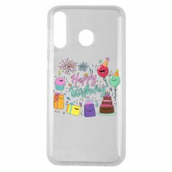 Чохол для Samsung M30 Happy Birthday