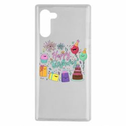 Чохол для Samsung Note 10 Happy Birthday