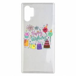 Чохол для Samsung Note 10 Plus Happy Birthday