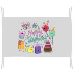 Прапор Happy Birthday
