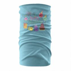 Бандана-труба Happy Birthday