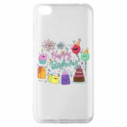Чохол для Xiaomi Redmi Go Happy Birthday