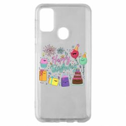 Чохол для Samsung M30s Happy Birthday