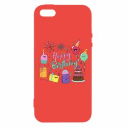 Чохол для iphone 5/5S/SE Happy Birthday