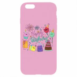 Чохол для iPhone 6/6S Happy Birthday
