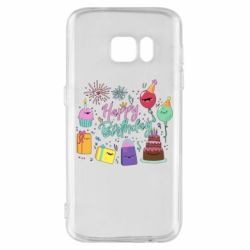 Чохол для Samsung S7 Happy Birthday