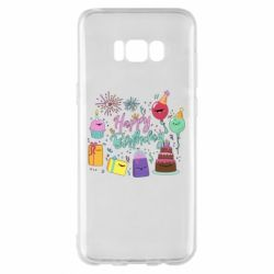 Чохол для Samsung S8+ Happy Birthday