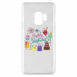 Чохол для Samsung S9 Happy Birthday