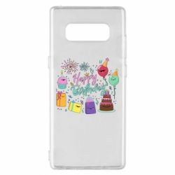 Чохол для Samsung Note 8 Happy Birthday