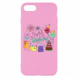 Чохол для iPhone 8 Happy Birthday