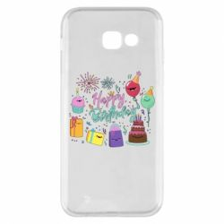 Чохол для Samsung A5 2017 Happy Birthday