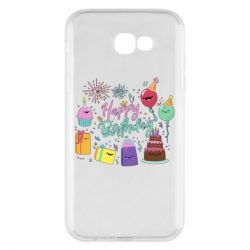 Чохол для Samsung A7 2017 Happy Birthday