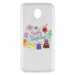 Чохол для Samsung J5 2017 Happy Birthday
