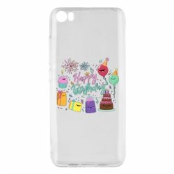 Чохол для Xiaomi Mi5/Mi5 Pro Happy Birthday