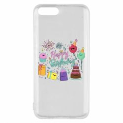 Чохол для Xiaomi Mi6 Happy Birthday