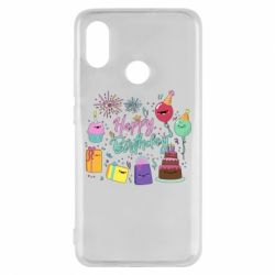 Чохол для Xiaomi Mi8 Happy Birthday