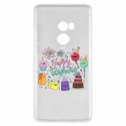 Чохол для Xiaomi Mi Mix 2 Happy Birthday