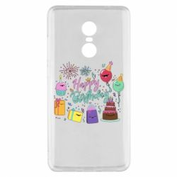 Чохол для Xiaomi Redmi Note 4x Happy Birthday