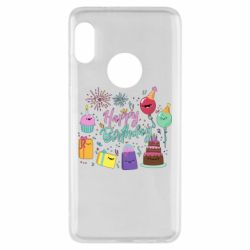 Чохол для Xiaomi Redmi Note 5 Happy Birthday