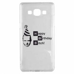 Чехол для Samsung A5 2015 Happy Birthdey Bitch Во все тяжкие
