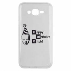 Чехол для Samsung J7 2015 Happy Birthdey Bitch Во все тяжкие