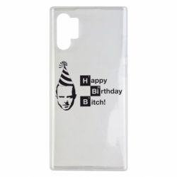 Чехол для Samsung Note 10 Plus Happy Birthdey Bitch Во все тяжкие