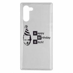Чехол для Samsung Note 10 Happy Birthdey Bitch Во все тяжкие