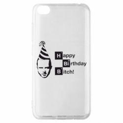 Чехол для Xiaomi Redmi Go Happy Birthdey Bitch Во все тяжкие
