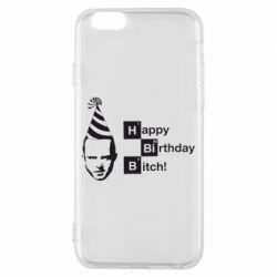 Чехол для iPhone 6/6S Happy Birthdey Bitch Во все тяжкие