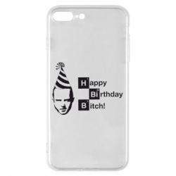 Чехол для iPhone 8 Plus Happy Birthdey Bitch Во все тяжкие
