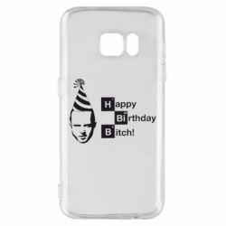 Чехол для Samsung S7 Happy Birthdey Bitch Во все тяжкие