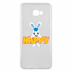 Чехол для Samsung J4 Plus 2018 Happy bunny