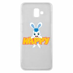 Чехол для Samsung J6 Plus 2018 Happy bunny