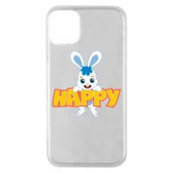 Чехол для iPhone 11 Pro Happy bunny