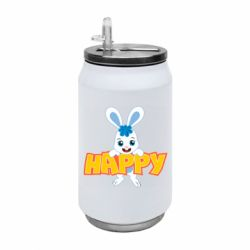 Термобанка 350ml Happy bunny