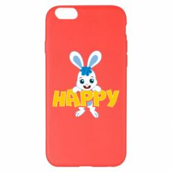 Чехол для iPhone 6 Plus/6S Plus Happy bunny