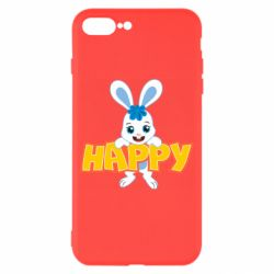 Чехол для iPhone 7 Plus Happy bunny