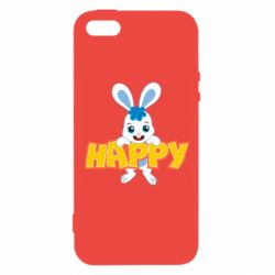 Чехол для iPhone5/5S/SE Happy bunny