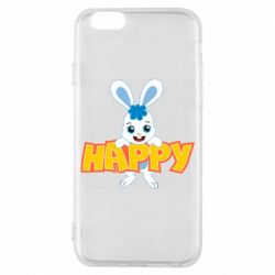 Чехол для iPhone 6/6S Happy bunny