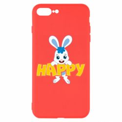 Чехол для iPhone 8 Plus Happy bunny
