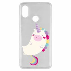 Чехол для Xiaomi Mi8 Happy color unicorn