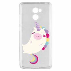 Чехол для Xiaomi Redmi 4 Happy color unicorn