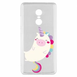 Чехол для Xiaomi Redmi Note 4x Happy color unicorn